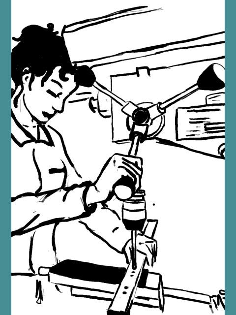 Projet AFDET, les métiers en bande-dessinée pour les collégiens